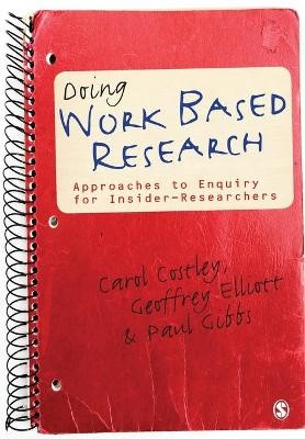 Doing Work Based Research -