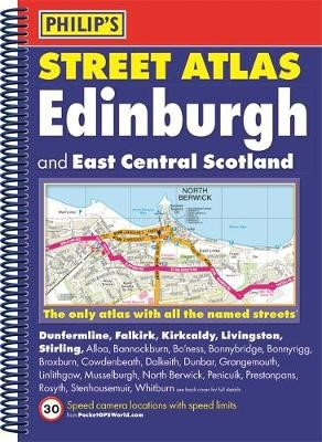 Philip's Street Atlas Edinburgh and East Central Scotland - pr_71374