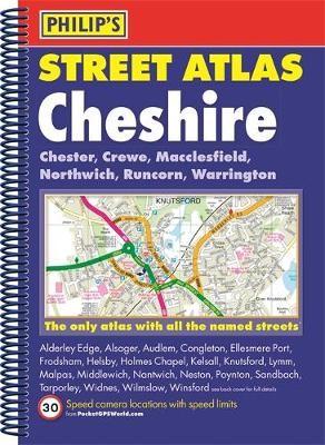 Philip's Street Atlas Cheshire - pr_236604