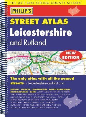 Philip's Street Atlas Leicestershire and Rutland - pr_269403