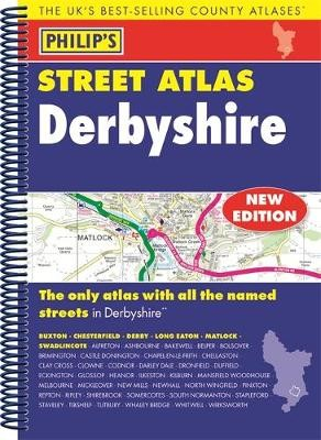 Philip's Street Atlas Derbyshire -