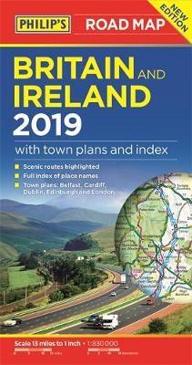Philip's Britain and Ireland Road Map - pr_185243