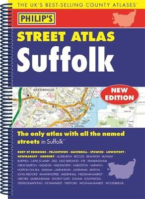 Philip's Street Atlas Suffolk -