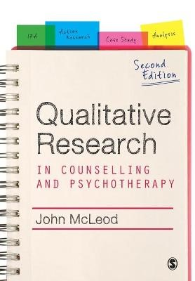 Qualitative Research in Counselling and Psychotherapy -