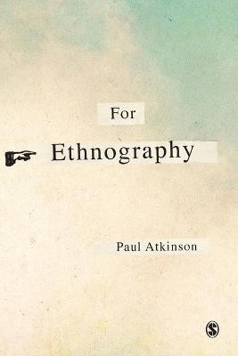 For Ethnography -