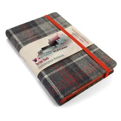 Waverley S.T. (M): Castle Grey Pocket Genuine Tartan Cloth Commonplace Notebook - pr_409957