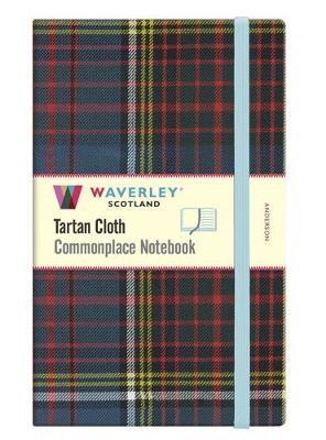 Waverley Anderson Tartan Large Notebook: 21cmx13cm - pr_216471