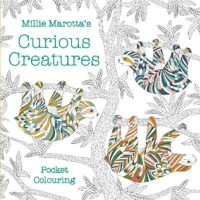 Millie Marotta's Curious Creatures Pocket Colouring - pr_1749243