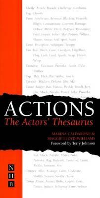 Actions: The Actors' Thesaurus - pr_18169