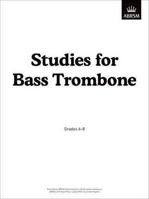 Studies for Bass Trombone -
