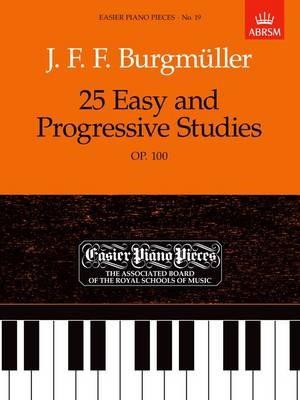 25 Easy and Progressive Studies, Op.100 -