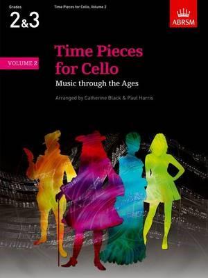 Time Pieces for Cello, Volume 2 - pr_274116
