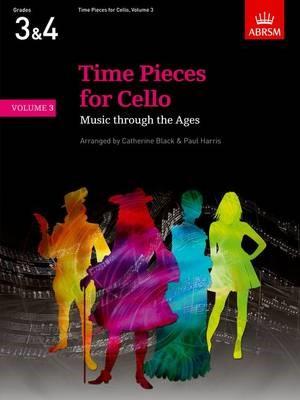 Time Pieces for Cello, Volume 3 -