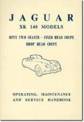 Jaguar XK140 Owner's Handbook - pr_209182