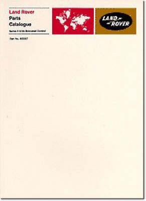 Land Rover Series 2 and Early 2A Bonnet Control Parts Catalogues - pr_16243
