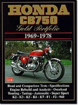 Honda CB750 Gold Portfolio, 1969-78 - pr_222759