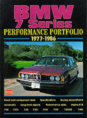 BMW 7 Series Performance Portfolio 1977-86 -