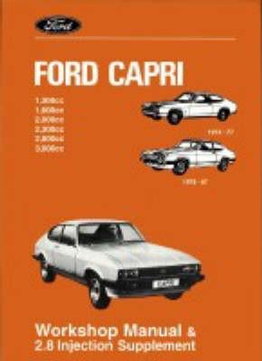 Ford Capri Workshop Manual -