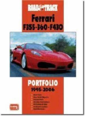 """""""Road & Track"""" Ferrari F355.360.F430 Portfolio 1995-2006 - pr_17184"""