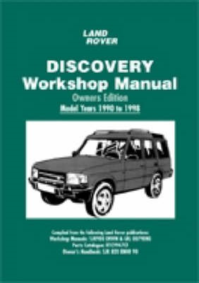 Land Rover Discovery Workshop Manual Owners Edition 1990 to 1998 - pr_210606