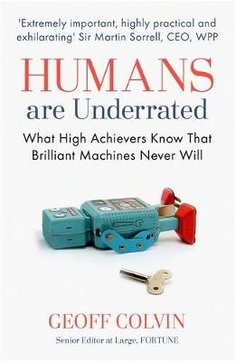 Humans Are Underrated -