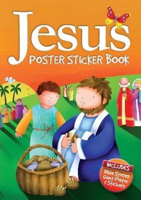 Jesus Poster Sticker Book -