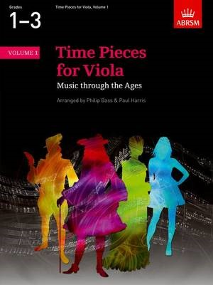 Time Pieces for Viola, Volume 1 -