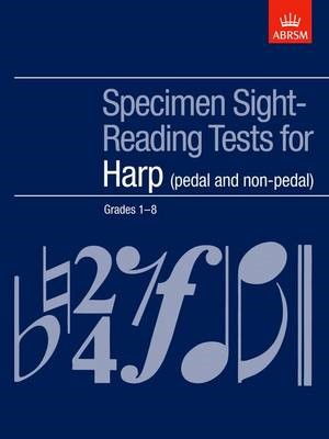 Specimen Sight-Reading Tests for Harp, Grades 1-8 (pedal and non-pedal) -