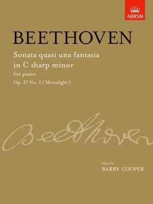 Sonata quasi una fantasia in C sharp minor, Op. 27 No. 2 ('Moonlight') -