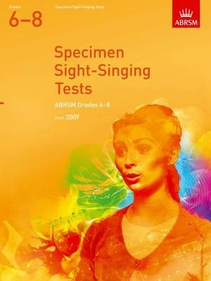 Specimen Sight-Singing Tests Grade 6-8 - pr_304496