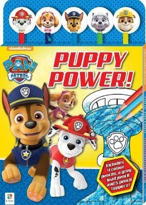 Paw Patrol Puppy Power 5-Pencil Set -