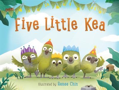 Five Little Kea -