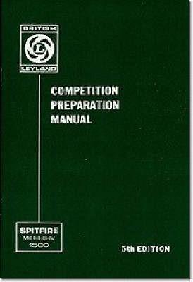 Triumph Owners' Handbook: Spitfire Competition Preparation Manual - pr_209735