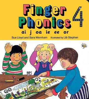 Finger Phonics book 4 -
