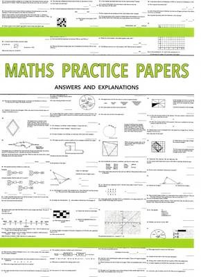 Maths Practice Papers for Senior School Entry - Answers and Explanations - pr_17017