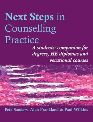 Next Steps in Counselling Practice -
