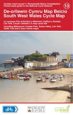 South West Wales Cycle Map -