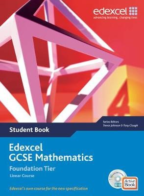 Edexcel GCSE Maths 2006: Linear Foundation Student Book and Active Book with CDROM - pr_17681