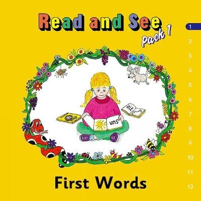 Jolly Phonics Read and See, Pack 1 -