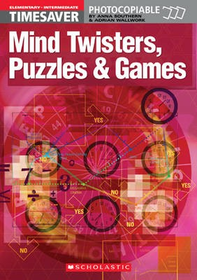 Mind Twisters, Puzzles & Games Elementary - Intermediate -