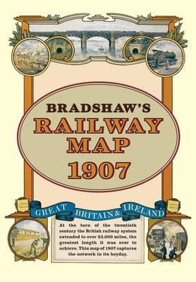 Bradshaw's Railway Folded Map 1907 - pr_16860
