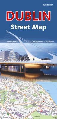 Dublin Street Map - pr_16454