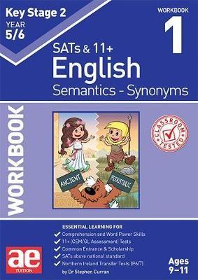 KS2 Semantics Year 5/6 Workbook 1 - Synonyms -