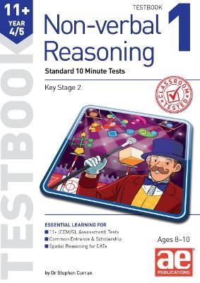 11+ Non-verbal Reasoning Year 4/5 Testbook 1 -