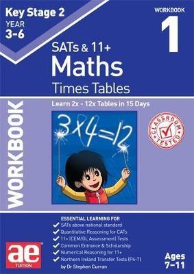 KS2 Times Tables Workbook 1 - pr_237555