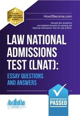 Law National Admissions Test (LNAT): Essay Questions and Answers - pr_20343