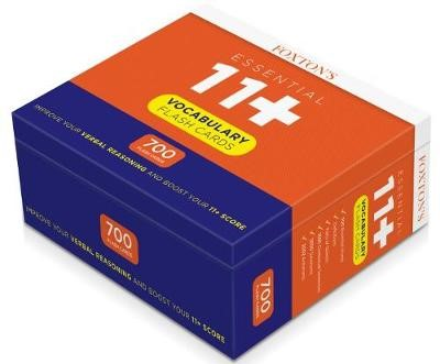 Foxton's 700 Vocabulary Flash Cards for the 11 Plus Exam with Synonyms & Antonyms - pr_314309