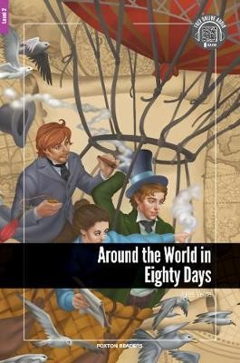 Around the World in Eighty Days - Foxton Reader Level-2 (600 Headwords A2/B1) with free online AUDIO - pr_311