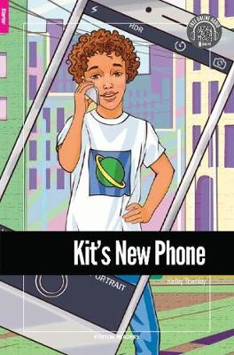 Kit's New Phone - Foxton Reader Starter Level (300 Headwords A1) with free online AUDIO - pr_317