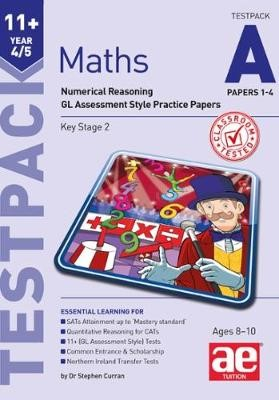11+ Maths Year 4/5 Testpack a Papers 1-4 - pr_237549